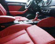 Audi A3 Ambition Buffalino leder rood