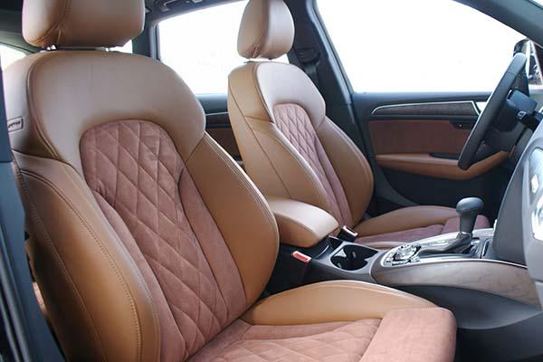 Audi Q5 Nappa Leder Alcantara Diamond stiksel