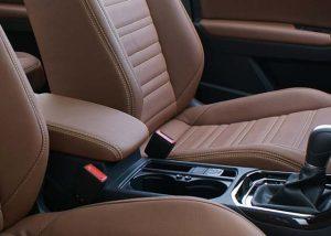 Volkswagen Touran Alba eco-leather Kaneelbruin Detail