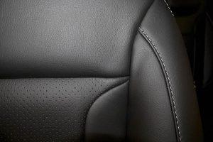 Alba eco-leather Zwart Perforatie 2
