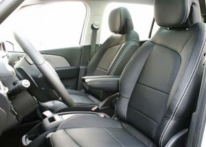 Citroen C4 Grand Picasso Alba eco-leather Zwart Voorstoelen
