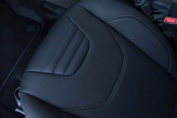 Ford Focus Buffalino Leder Zwart Voorstoel