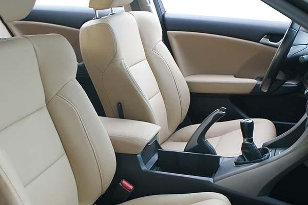 Honda Accord Buffalino Leder Beige