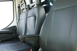 Iveco Daily protective vehicle seat cover Alba Automotive 01