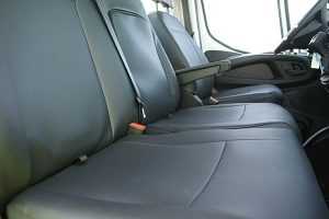 Iveco Daily protective vehicle seat cover Alba Automotive 02