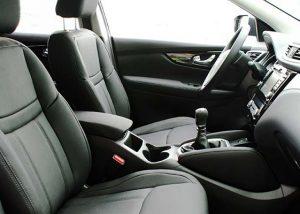 Nissan Qashqai Alba eco-leather Zwart