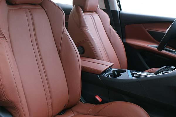 Peugeot 3008 Buffalino Leder Mustangbruin Voorstoelen