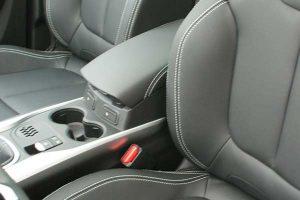 Renault Kadjar Buffalino Leder Zwart Wit Stiksel Detail