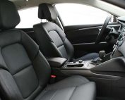 Renault Talisman Buffalino Leder Zwart Voorstoelen