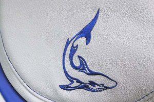 Skoda Octavia Buffalino Leder Wit Antraciet Logo