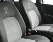 Suzuki Celerio Alba eco-leather Grijs Suede Voorstoelen